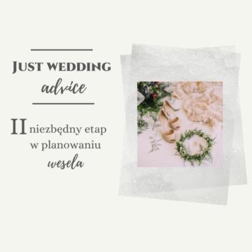II niezbędny etap w planowaniu wesela