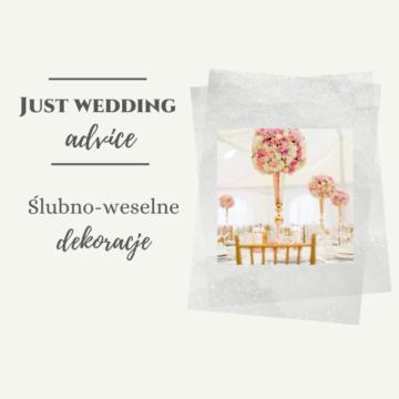 Dekoracje ślubno-weselne