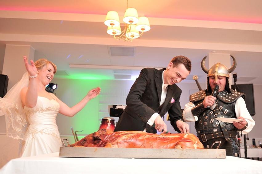 atrakcja na weselu