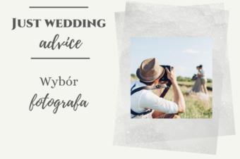 Wybór fotografa