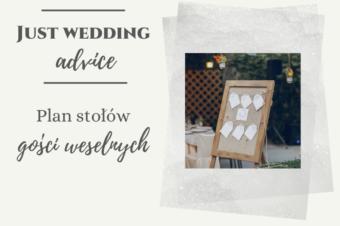 Plan stołów gości weselnych