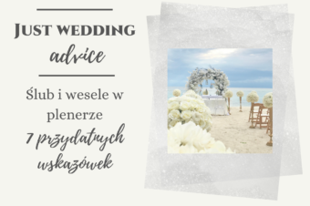 Ślub i wesele w plenerze