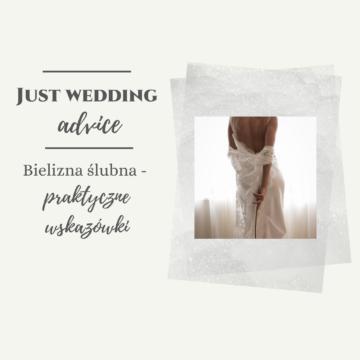 Bielizna ślubna – praktyczne wskazówki