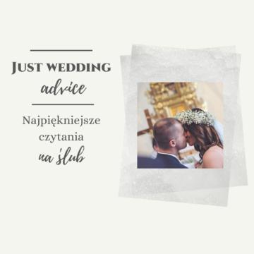 Najpiękniejsze czytania na ślub