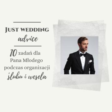 10 zadań dla Pana Młodego podczas organizacji ślubu i wesela