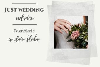 Paznokcie w dniu ślubu