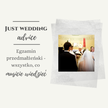 Egzamin przedmałżeński – wszystko, co musicie wiedzieć