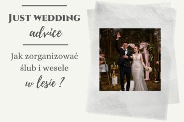Jak zorganizować ślub i wesele w lesie?